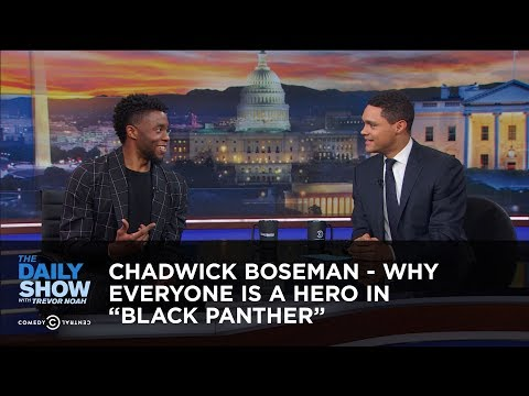 Chadwick Boseman - Why Everyone Is a Hero in