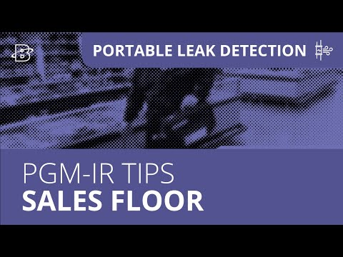 PGM-IR Operation Tips, Part 3 | Sales Floor