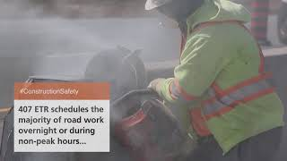 How to drive safely through construction zones | 407 ETR