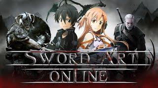 Sword Art Online - Японский Скайрим с читами