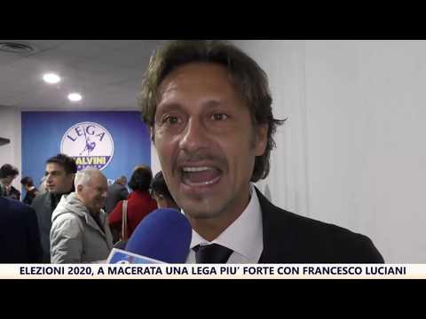 Elezioni 2020, a Macerata una Lega più forte con Francesco Luciani