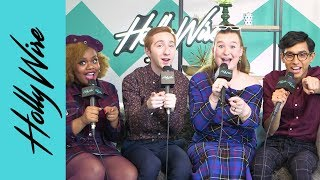High School Musical: The Musical: The Series Cast React To SEASON 2 Renewal!! | Hollywire