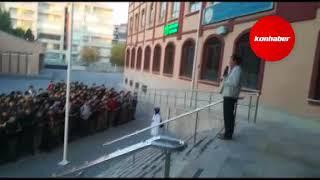 Konya'da öğrencilerden askerimize dua!