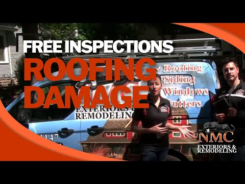 Molly Mortenson, Co-Owner of NMC, and Jeff Sklar, Sales Manager of NMC, walk you through a roof repair/replacement inspection.