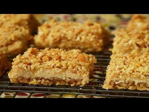Oatmeal Lemon Bars Recipe Demonstration – Joyofbaking.com