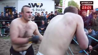 FATMAN vs MMA Fighter in Street Fight!!! Crazy Fight !!!