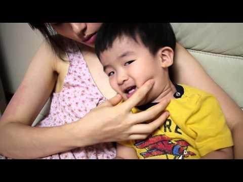 2살 민찬 찌찌