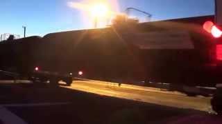 preview picture of video 'Passage à niveau / Railroad Crossing - Kingman Arizona'