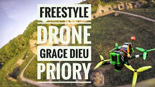 "FPV Freestyle Drone at Grace Dieu Priory ""Bando"""