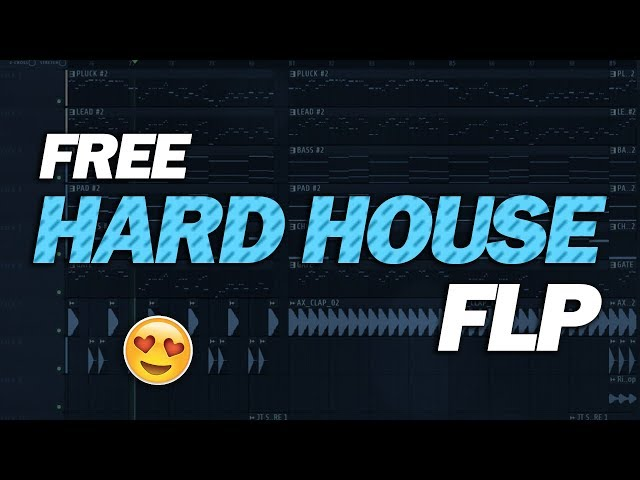 Free Hard House FLP: by Blaze & SaQmir [Only for Learn Purpose]
