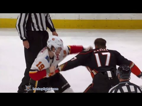 Ryan Kesler vs. Matthew Tkachuk