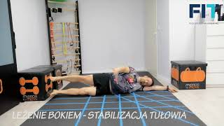 Leżenie bokiem – stabilizacja – BNS010