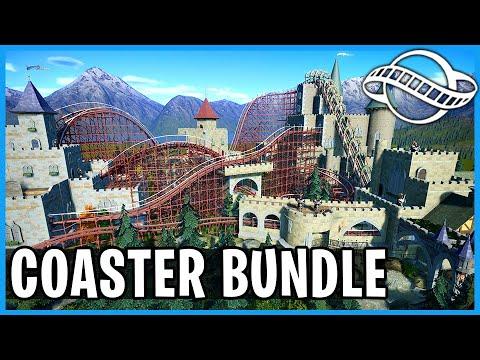 Squire's Estate, Rock Gliders & Leovo Temple! Coaster Spotlight 805: Planet Coaster