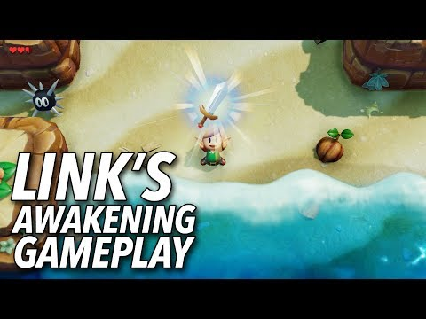 The Legend of Zelda: Link's Awakening Gameplay | E3 2019 thumbnail