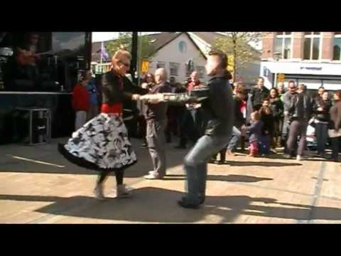 EIGHTBALL BOPPERS Rockabilly band '' Rock 'n Roll '' Festival 2012 Franeker