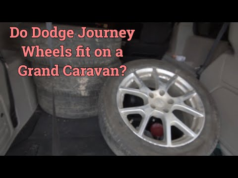 Will Dodge Journey wheels fit on a Dodge Grand Caravan?