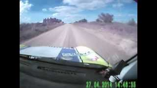 preview picture of video 'Pereira-Barreto (Lifan 320) Rally 2014(Pando)'