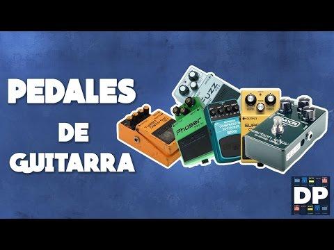 Tipos de Pedales de Guitarra! Distorsión, Delay, Reverb, Chorus y más!