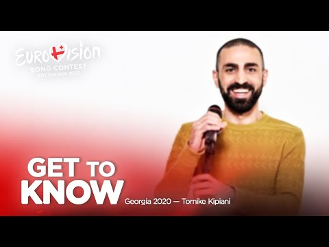 🇬🇪: Get To Know - Georgia 2020 - Tornike Kipiani