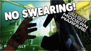 NO Swearing NO Rage Challenge - AK-47 Modern Warfare Gameplay Commentary 6
