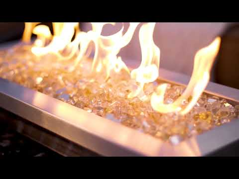 White Gold Reflective Fire Glass | BBQGuys Signature Series