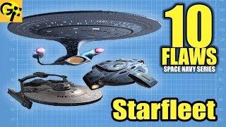 10 Flaws FEDERATION STARFLEET (Star Trek)