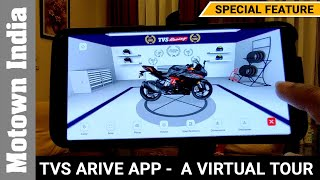 TVS A.R.I.V.E app in all detail | There is so much to learn | Special Feature | Motown India