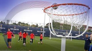 Training skills: FootBasket