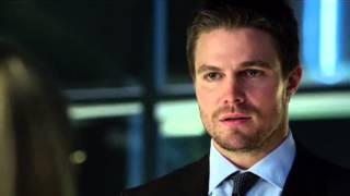 Oliver breaking Felicity's heart.