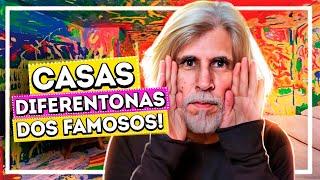 AS CASAS MAIS DIFERENTONAS DOS FAMOSOS | Diva Depressão