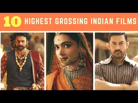Top 10 - Highest grossing Indian Film at the Worldwide boxoffice