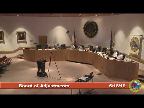 Board of Adjustment  6.18.19