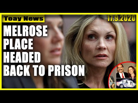 Melrose Place' actress Amy Locane headed back to prison for 2010 crash