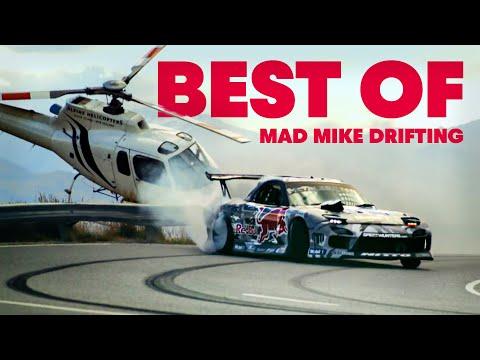 ロータリー大好きのプロドリフトドライバー「マッド・マイク」が今までにパフォーマンスをしてきた場所を一気見してみよう