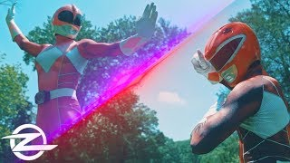PINK RANGER vs. RED RANGER  | Live Action Power Ranger FIGHT!
