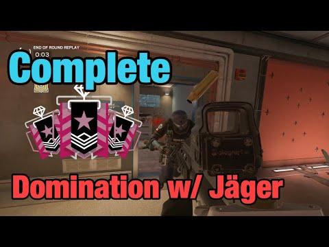 Complete Domination w/ Jäger - Rainbow Six Siege: Operation Ember Rise