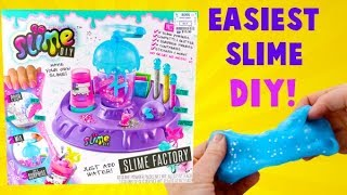 Easiest Slime DIY! So Slime DIY Slime Factory Kit with Surprises!