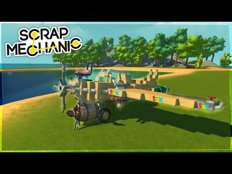 Meșterul Trex - Episodul 686 - Scrap Mechanic