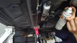 Kraftstofffilter selber wechseln   Kraftstofffilter wechseln Turtorial   BMW Z3