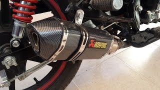 Sexto Video Honda CB1 110 Cc Con Escape Arkapovic. Sonido.