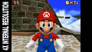 DeSmuME X432R Emulator | Super Mario 64 DS [1080p HD] | Nintendo DS