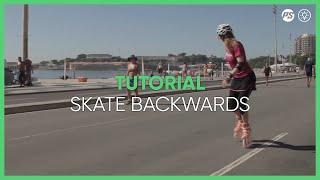 How to skate BACKWARDS Inline skating tutorial