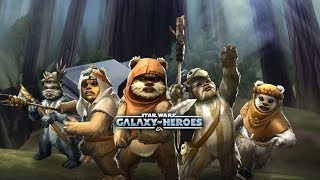 Star Wars: Galaxy Of Heroes - Wicket Logray Paploo - Zeta Chirpa VS Thrawn