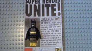 Lego SDCC Super Hero DC Batman And Green Lantern Exclusives Review