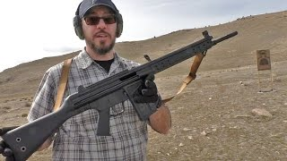 Shooting the C308 Battle Rifle from Century Arms (CETME, H&K G3)