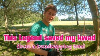 This Legend (Leonard Hoogeboom) rescued my kwad (FPV freestyle/vlog)