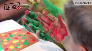Immer wieder Anders kreativ: Malen mit Fingerfarben