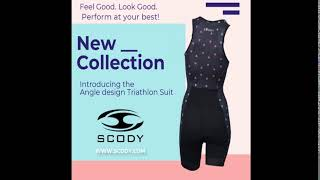 Triathlon Suit Sleeveless Scody Angle Collection