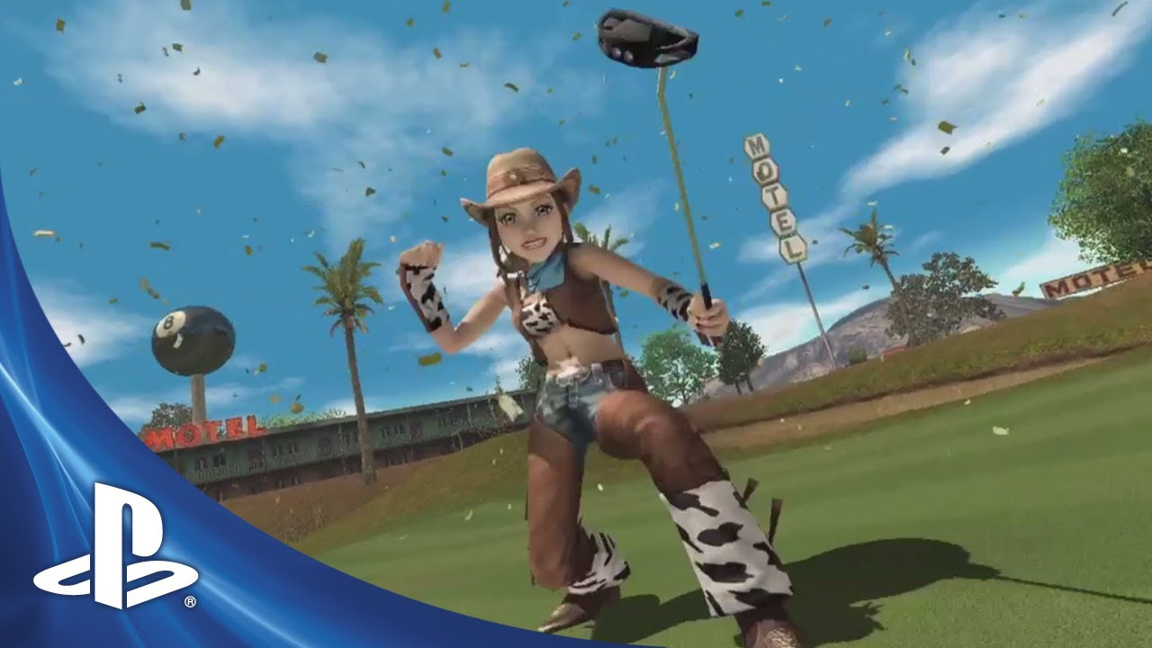 Hot Shots Golf: World Invitational Coming to PS3