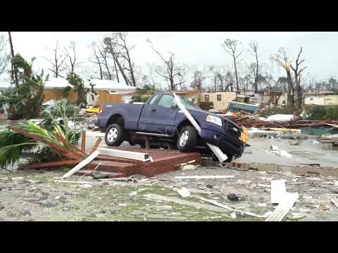 Amazing footage of hurricane Michael. I've never seen a storm like this before.